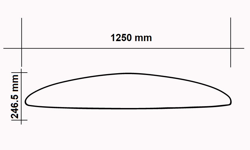 Front Wing 1250 Wing - 2400 CM2 specs
