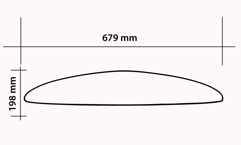 Ala Frontale 679 Kite/Surf/Wing - 990 CM2 specs