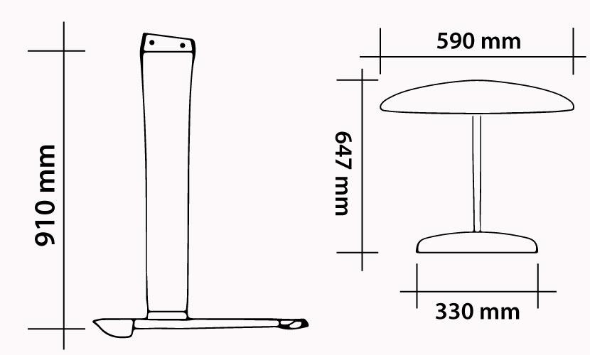 Kit M91Y - W590Y - S330Y - FK647 - YOUTH FOIL CLASS IKA specs