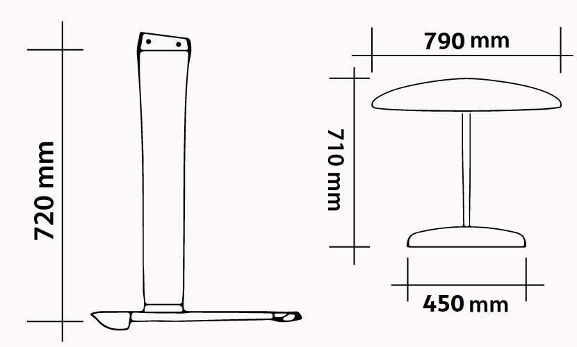 Kit M72C - W790 - S450 - FS710 CARBON ONDA specs