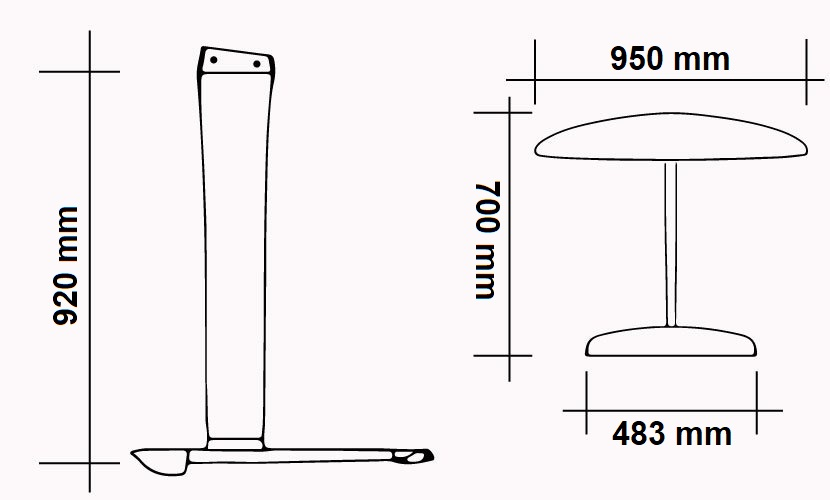 Kit M92 - W950 - S483 - F700-HS CARBON ONDA specs