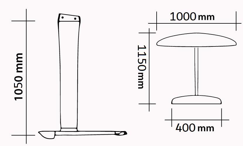 Kit 107 - 1000 Carbon Vento Race specs