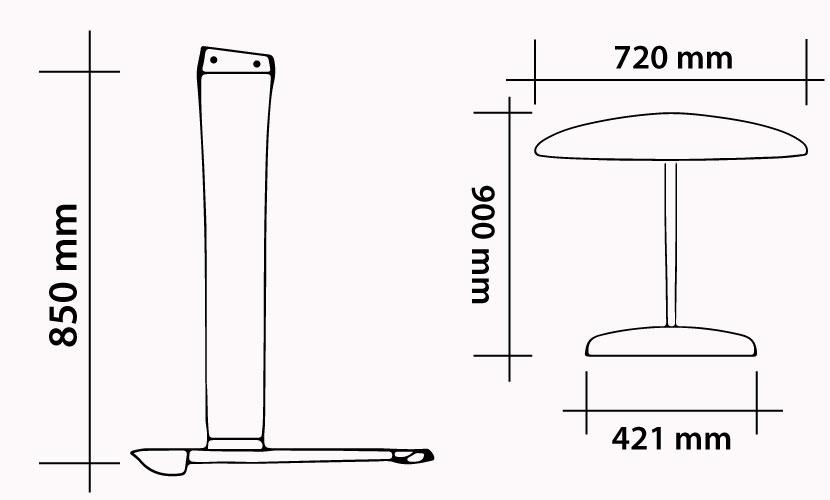 Spécifications du Kit 85-720 Carbon Vento Freestyle